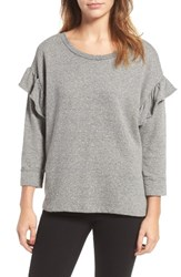 Current Elliott Women's The Ruffle Sweatshirt