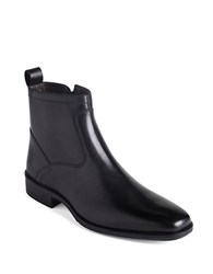 Johnston And Murphy Larsey Ankle Boots Black