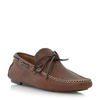 Dune Beach Comber Slip On Casual Loafers Tan
