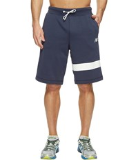 New Balance Classic Fleece Shorts Navy Men's Shorts