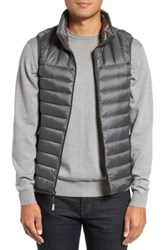 Tumi Packable Down Vest Slate Grey