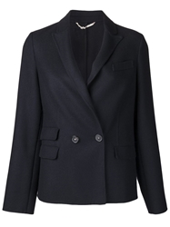 Massimo Alba Double Faced Blazer Blue