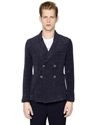 Giorgio Armani Cotton Blend Terrycloth Jacket