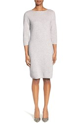 Women's Classiques Entier Cashmere Sweater Dress Grey Clay Heather