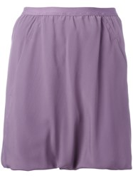 Rick Owens Blended Shorts Pink Purple