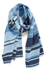 Nordstrom Women's Variegated Stripe Wrap Scarf