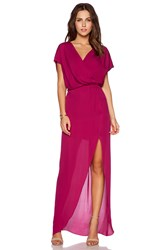 Rory Beca Maid By Yifat Oren Plaza Gown Fuchsia