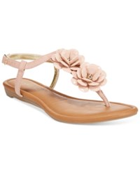 Rampage Dandylion Flat Sandals Women's Shoes Blush