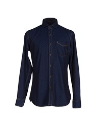Baldessarini Shirts Shirts Men Dark Blue