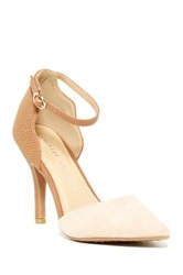 Chinese Laundry Something New Ankle Strap Pump Beige