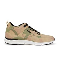 Gourmet Men's 35 Lite Camo Lx Trainers Camo White Leather