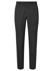 John Lewis Washable Tailored Suit Trousers Charcoal