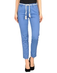 Basicon Casual Pants Blue