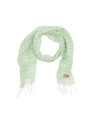 Alviero Martini 1A Classe Oblong Scarves Light Green