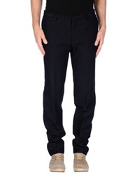Brian Dales Casual Pants Dark Blue