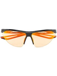 Heron Preston X Nike Black And Orange Tailwind Sunglasses