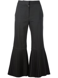 Stella Mccartney 'Chellini' Bell Bottom Trousers Grey