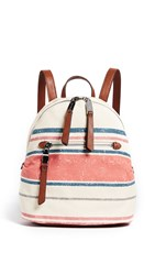 Splendid Park City Mini Backpack Natural Stripe