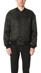 Alexander Wang T By Bomber Jacket With Back Insert Ivy
