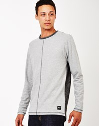 Only And Sons Herman Crew Neck Sweatshirt Grey