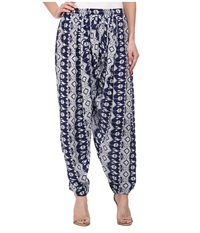 Tolani Haley Harem Pants Indigo Women's Casual Pants Blue