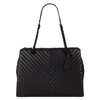 Aldo Katty Quilted Tote Black