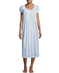Celestine Jule Cap Sleeve Long Nightgown Light Blue