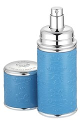 Creed Blue With Silver Trim Leather Atomizer