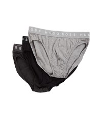 Hugo Boss Brief 3 Pack Us Co 10145963 01 Charcoal Black Dark Grey Men's Underwear Multi