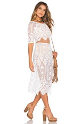 For Love And Lemons X Revolve Dress White