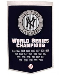 Winning Streak New York Yankees Dynasty Banner Team Color