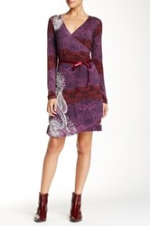 Desigual Printed Dress Purple