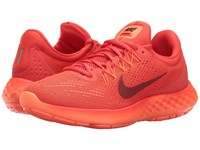 Nike Lunar Skyelux Max Orange Dark Cayenne Hyper Orange Men's Running Shoes Red