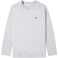 Lacoste Long Sleeve Classic Tee Grey