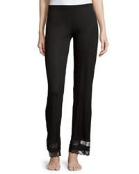 Eberjey Georgette Classic Lounge Pants Black