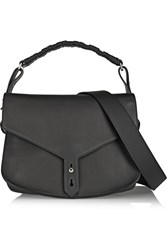 Thakoon Hudson Leather Shoulder Bag Black