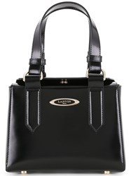 Lanvin Square Shoulder Bag Black