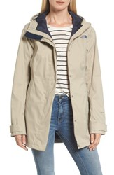 The North Face 'S City Midi Trench Coat Crockery Beige
