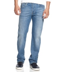Armani Jeans Jeans Straight Leg Light Wash