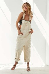 Bdg Oversized Stitched Overall White