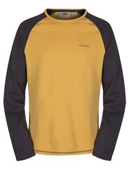 Craghoppers Ruston Long Sleeved T Shirt Yellow