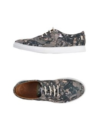 Woodwood Low Tops And Trainers Military Green