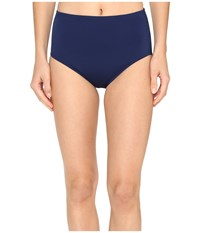 Jantzen Signature Solids Comfort Core Bottom Nocturne Blue Women's Swimwear Navy