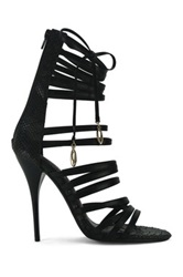 Red Kiss Chic And Classy Stiletto Sandal Black