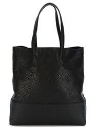 Hogan Logo Tote Bag Black