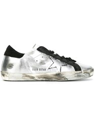 Golden Goose Deluxe Brand Super Star Sneakers Metallic