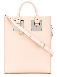 Sophie Hulme Albion Square Tote Women Calf Leather One Size Nude Neutrals