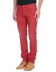 It's Met Casual Pants Brick Red
