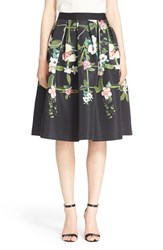 Women's Ted Baker London 'Emmalin' Midi Skirt Black