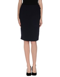 Windsor. Knee Length Skirts Dark Blue